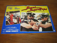 fotobusta,1985 MIAMI SUPERCOPS,BUD SPENCER,TERENCE HILL, CORBUCCI