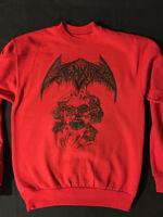 CREMATORY Sweatshirt Swedish Death Metal demo Gorement Rottrevore Demigod S - XL