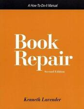 Book Repair: A How-To-Do-It Manual (How-to-Do-It Manuals for Libraries, No. 107)