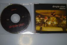 Simple Plan ‎– Addicted. CD-SINGLE PROMO