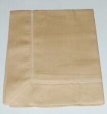 Sferra FIONA Boudoir Sham Camel Egyptian Cotton Sateen Made in Italy New