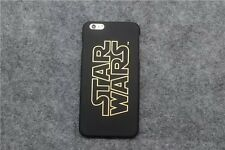 New Gold Design Star Wars Character Plastic Hard Case For iPhone 5S 6S 6 Plus