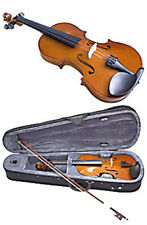 VALENCIA VIOLIN  SV110 1/8 SIZE VIOLIN OUTFIT. SOLID CARVED TOP WITH CASE - NEW