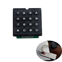 4x3 /4x4 12/16 key Switch Membrane Matrix KeyPad Self Adhesive For Arduino
