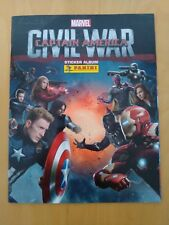 ALBUM VIDE PANINI - MARVEL - CAPTAIN AMERICA CIVIL WAR