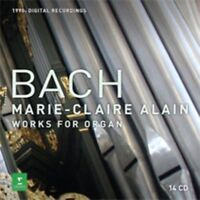 Marie-Claire Alain - Bach, Js : Complete Orgel Works Neue CD