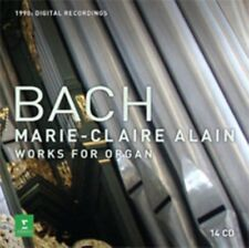 Marie-claire Alain - Bach, Js: Complete Organ Works NEW CD