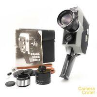Zenit Quarz DS8-3 Zoom Double Super 8 Cine Camera & Accessories - Working S82897