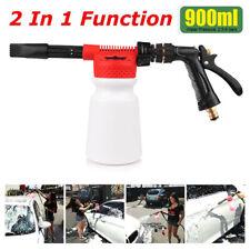 Car Snow Foam Gun Bottle Sprayer for Garden Hose Window Soap Cleaning Washing US