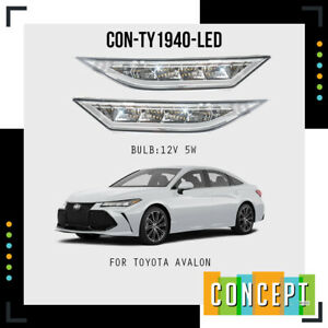 For 2019-2020 Toyota Avalon LED Daytime Running Light Fog Lights L&R Side