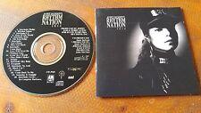 JANET JACKSON RHYTHM NATION 1989 CD mint! MISS YOU MUCH ESCAPADE BLACK CAT