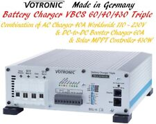 3in1 Votronic Triple Solar MPPT & DC-to-DC & AC Battery Chargers Lithium LiFePO4