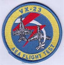 VX-23 AEA FLIGHT TEST PATCH
