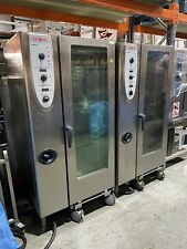 RATIONAL CM201 COMBINATION OVEN 20 GRID WITH ROLL IN TROLLEY 3 PHASE £3400 + VAT