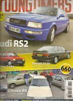 YOUNGTIMERS 31 CITROEN BX FIAT 127 AUDI RS2 R25 V6 OPEL OMEGA MG METRO TURBO