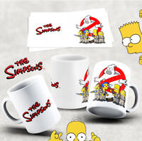 The Simpsons MUG  GHOST BUSTERS  (Characters) MUG 110Z  (12)
