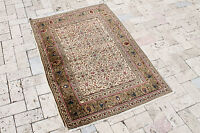 Turkish Rug 35''x51'' Vintage Old Anatolian Area Rug Carpet 90x130cm Kayseri Rug