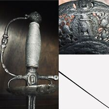 17th Century Transitional Rapier Sword Possibly By Johannes Moum 1650s