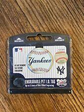 New York Yankees Pet Dog Personalized Circle ID Tag