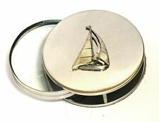 Sailing Boat Yacht Magnifying Reading Glass Desktop Office Captian Ship Gift