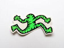 """Airwalk sticker on clear, 3"""" Green neon  sticker, 80's NOS. Prototype airwalk."""