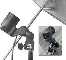 110/120V Studio E27 Continuous Light Ac Socket Light Stand Mount Umbrella Holder