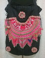 Huge tote bag. Flower Hmong/Hill Tribe/Gypsy/Boho