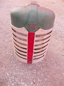 Oliver Super 77 S77 Tractor ORIGINAL NICE front nose cone hood grill assembly