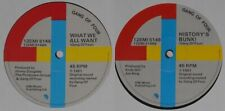 """Gang of Four - What We All Want/History's Bunk - 1981 U.K. 12"""" EP vinyl"""