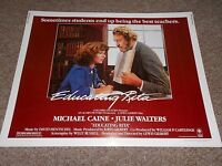 EDUCATING RITA (1983) MICHAEL CAINE- 1/2 SHEET POSTER ROLLED
