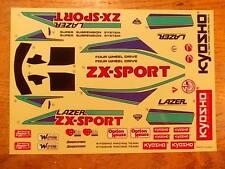LA-50 Decal - Kyosho Lazer ZX Sport