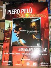 PIERO PELU'-CARTONATO RIGIDO-STORYTELLERS cm 60 x 98