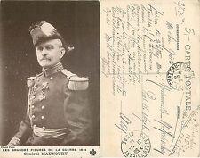 WWI - France - Général Maunoury - Grandes Figures de la Guerre 1914 (S-L XX174)
