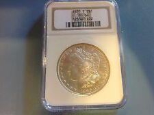 1880-S Morgan Dollar. NGC MS 64. 125387-022 Beautiful coin.