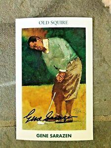 1992 GOLF'S GREATEST MUELLER complete set of 30/346 Gene Sarazen card autograph