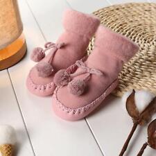 New Infant Baby Girl Boy Toddler Anti-slip Warm Slippers Socks Cotton Shoes