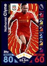 Match Attax 2016-2017 Nathaniel Clyne Liverpool Base card No. 148