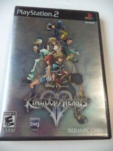 JEU Sony Playstation PS2 - Kingdom Hearts II - NTSC-U/C