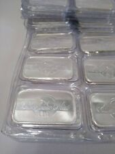 1 OZ. SILVER BAR SEALED AND PRODUCED AT THE SILVERTOWNE MINT