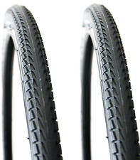 Pair (2) 700 x 38c Tyre with a 3mm Anti-Puncture Belt City/Trekkin Tread Pattern