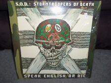 S.O.D.: STORMTROOPERS OF DEATH Speak English Or Die MRI1269 LP ORIGINAL-SHRINK