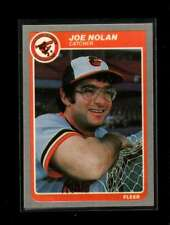 1985 FLEER #185 JOE NOLAN NMMT ORIOLES