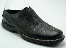 Cole Haan Black Leather Mules Waterproof Shoes Women's Size 9 B