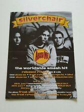 More details for silverchair flyer for uk tour / abuse me single - 1997 vintage rare handbill