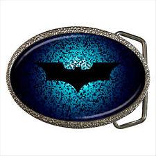 Nuevo * Hot Batman Calidad Cromo Hebilla de cinturón Regalo D01