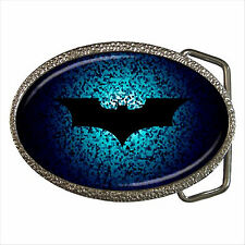 NEW* HOT BATMAN Quality Chrome Belt Buckle Gift D01