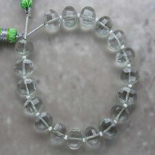 Green Amethyst Faceted Oval 7mm x 9mm Semi-Precious Gemstone