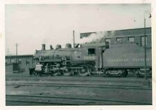 H819 RP 1950s CPR CANADIAN PACIFIC RAILROAD TRAIN ENGINE #1004 TORONTO ON