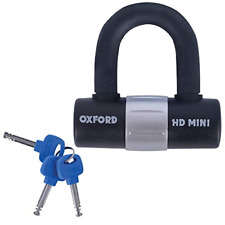 Oxford Heavy Duty Bicycle Bike Cycle Sold Secure Mini Shackle D U Lock Padlock