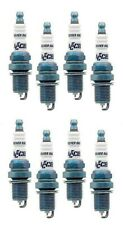 Accel Spark Plug SILVER TIP Plugs 437SS Set 8 SHORTY Chevy Buick 350 454 RACING